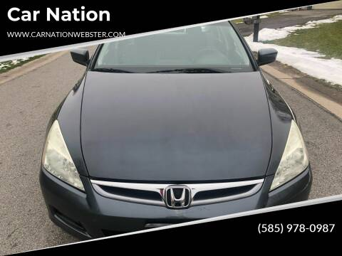 2006 Honda Accord for sale at Car Nation in Webster NY