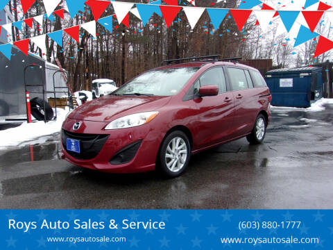 2012 Mazda MAZDA5 for sale at Roys Auto Sales & Service in Hudson NH