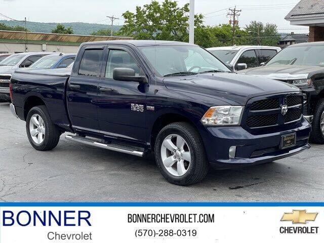 2015 RAM Ram Pickup 1500 for sale at Bonner Chevrolet in Kingston PA