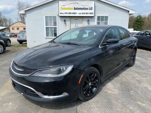 2015 Chrysler 200 for sale at COLUMBUS AUTOMOTIVE in Reynoldsburg OH