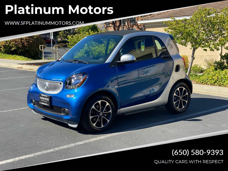 2017 Smart fortwo electric drive for sale in San Bruno, CA