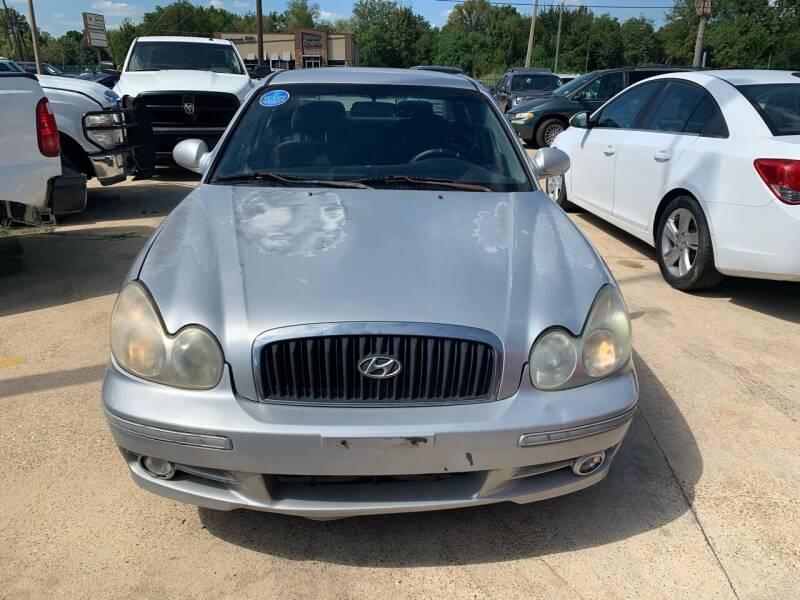 2005 Hyundai Sonata for sale at 1st Stop Auto in Houston TX