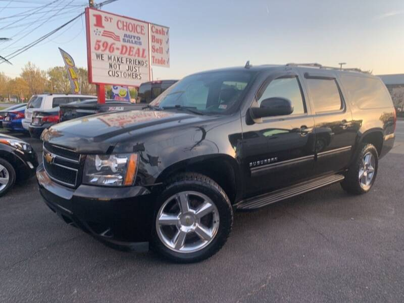 2012 Chevrolet Suburban for sale at 1st Choice Auto Sales in Newport News VA