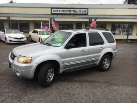 2005 Ford Escape for sale at PJ's Auto Center in Salem OR