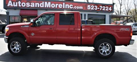 2012 Ford F-250 Super Duty for sale at Autos and More Inc in Knoxville TN