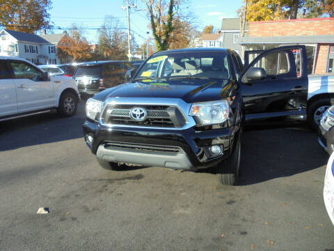 2015 Toyota Tacoma for sale at Washington Street Auto Sales in Canton MA