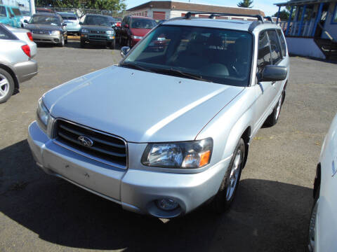 2004 Subaru Forester for sale at Family Auto Network in Portland OR