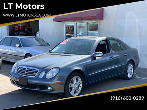 2006 Mercedes-Benz E-Class for sale at LT Motors in Rancho Cordova CA