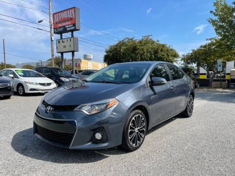 2014 Toyota Corolla for sale at Autohaus of Greensboro in Greensboro NC