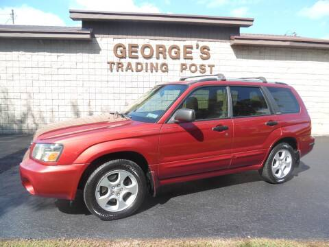 2003 Subaru Forester for sale at GEORGE'S TRADING POST in Scottdale PA