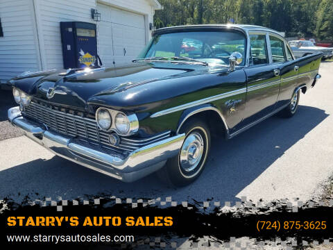 1959 Chrysler New Yorker for sale at STARRY'S AUTO SALES in New Alexandria PA