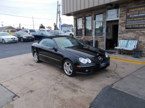2005 Mercedes-Benz CLK for sale at Preferred Motor Cars of New Jersey in Keyport NJ