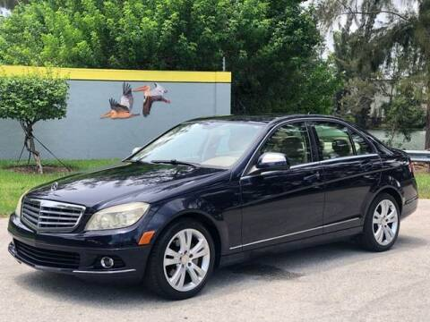 2008 Mercedes-Benz C-Class for sale at CAR UZD in Miami FL