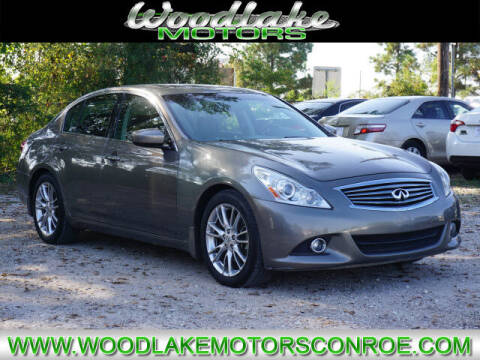 2010 Infiniti G37 Sedan for sale at WOODLAKE MOTORS in Conroe TX