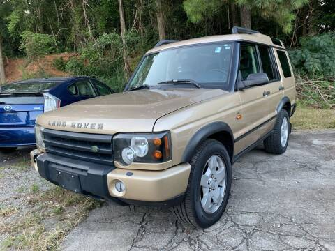 2004 Land Rover Discovery for sale at ATLANTA AUTO WAY in Duluth GA