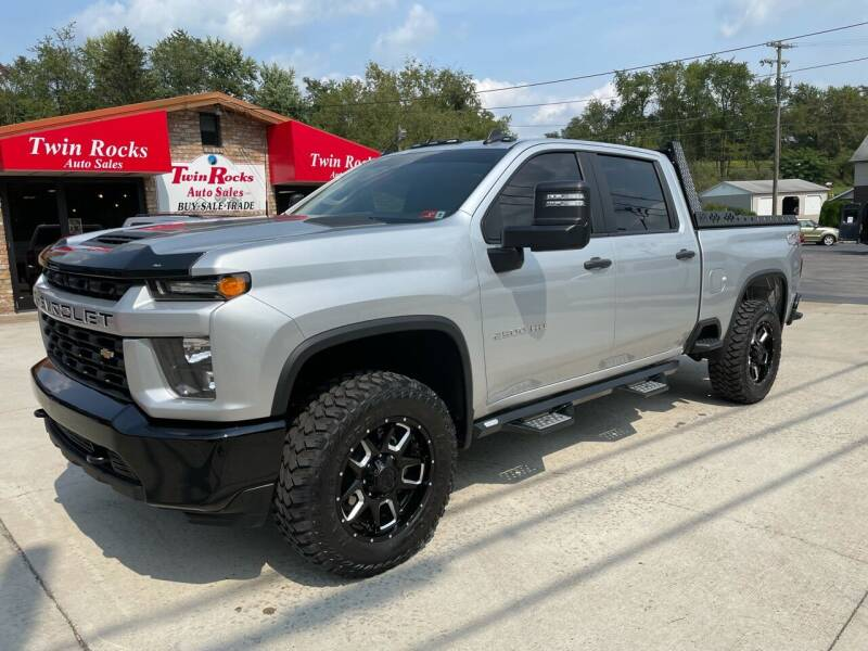 2020 Chevrolet Silverado 2500HD for sale at Twin Rocks Auto Sales LLC in Uniontown PA