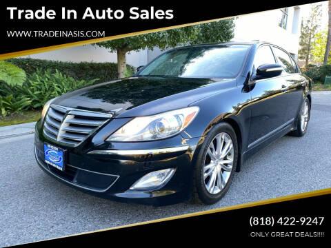 2012 Hyundai Genesis for sale at Trade In Auto Sales in Van Nuys CA
