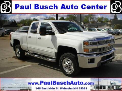 2019 Chevrolet Silverado 2500HD for sale at Paul Busch Auto Center Inc in Wabasha MN