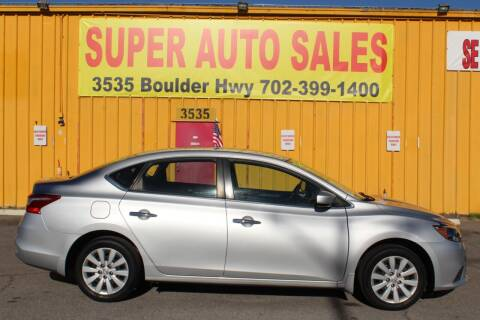 2017 Nissan Sentra for sale at Super Auto Sales in Las Vegas NV