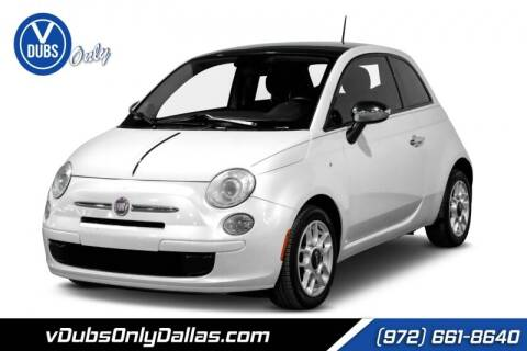 2015 FIAT 500 for sale at VDUBS ONLY in Dallas TX