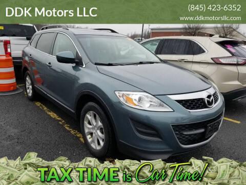 2012 Mazda CX-9 for sale at DDK Motors LLC in Rock Hill NY