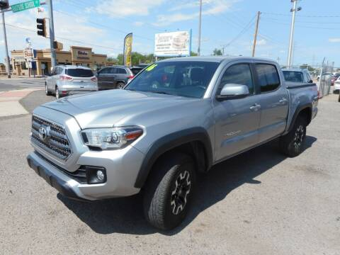 2016 Toyota Tacoma for sale at AUGE'S SALES AND SERVICE in Belen NM