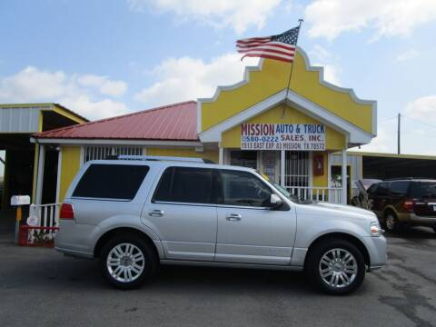 2011 Lincoln Navigator for sale at Mission Auto & Truck Sales, Inc. in Mission TX
