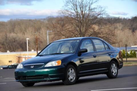 2001 Honda Civic for sale at T CAR CARE INC in Philadelphia PA