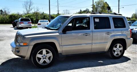 2010 Jeep Patriot for sale at PINNACLE ROAD AUTOMOTIVE LLC in Moraine OH