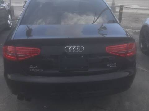 2013 Audi A4 for sale at Boss Automotive in Hollywood FL