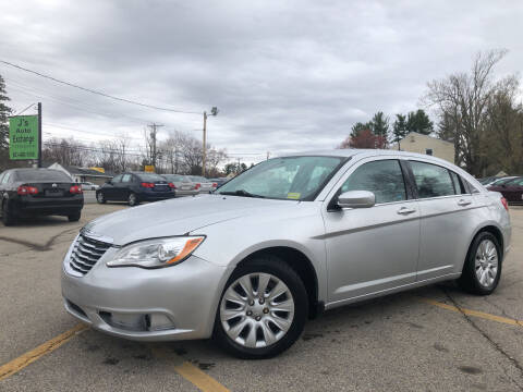 2012 Chrysler 200 for sale at J's Auto Exchange in Derry NH