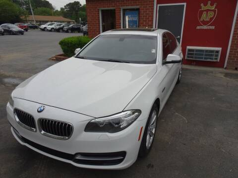 2014 BMW 5 Series for sale at AP Automotive in Cary NC