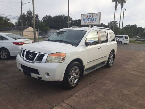 2010 Nissan Armada for sale at J & L Motors in Pascagoula MS