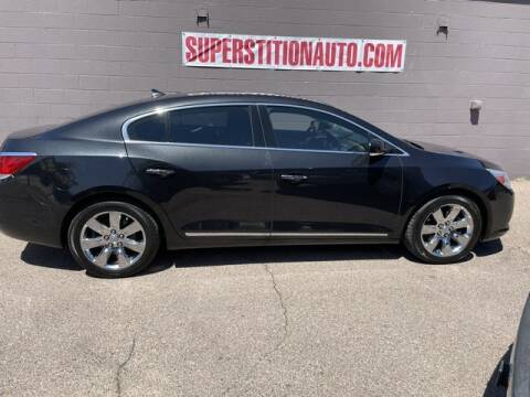 2013 Buick LaCrosse for sale at Superstition Auto in Mesa AZ