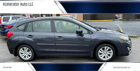 2015 Subaru Impreza for sale at Xcelerator Auto LLC in Indiana PA