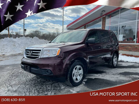 2015 Honda Pilot for sale at USA Motor Sport inc in Marlborough MA