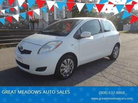 2009 Toyota Yaris for sale at GREAT MEADOWS AUTO SALES in Great Meadows NJ