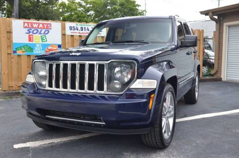 2012 Jeep Liberty for sale at ALWAYSSOLD123 INC in Fort Lauderdale FL