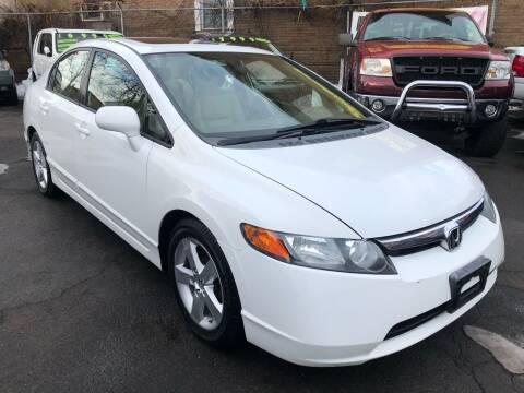 2008 Honda Civic for sale at James Motor Cars in Hartford CT