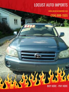 2005 Toyota Highlander for sale at Locust Auto Imports in Locust NC