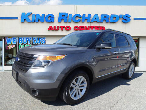2013 Ford Explorer for sale at KING RICHARDS AUTO CENTER in East Providence RI