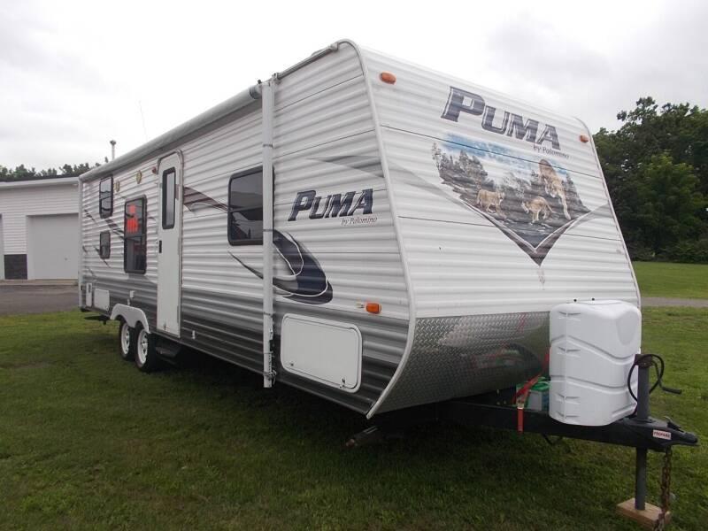 2012 Puma 27FQ for sale at Dansville Radiator in Dansville NY