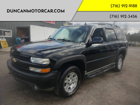 2006 Chevrolet Tahoe for sale at DuncanMotorcar.com in Buffalo NY