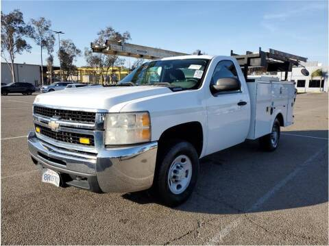 2008 Chevrolet Silverado 2500HD for sale at CENTURY TRUCKS & VANS in Grand Prairie TX