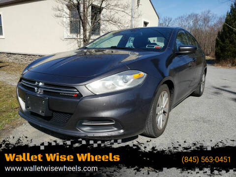 2015 Dodge Dart for sale at Wallet Wise Wheels in Montgomery NY
