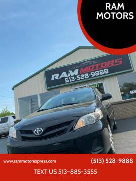 2013 Toyota Corolla for sale at RAM MOTORS in Cincinnati OH