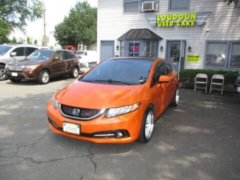2014 Honda Civic for sale at Loudoun Used Cars in Leesburg VA