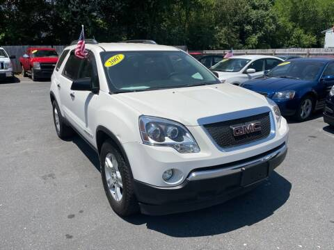 2007 GMC Acadia for sale at Auto Revolution in Charlotte NC