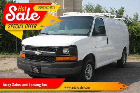 2013 Chevrolet Express Cargo for sale at Ariay Sales and Leasing Inc. in Denver CO