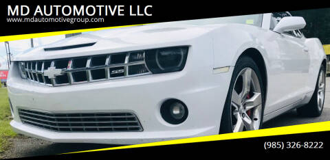 2010 Chevrolet Camaro for sale at MD AUTOMOTIVE LLC in Slidell LA
